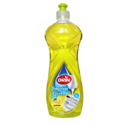 Drin Dishwashing Lemon 500ml