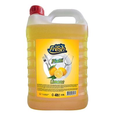 Gold Fresh Dishwashing Lemon 4L