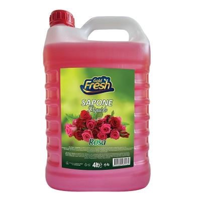 Gold Fresh Liquid Soap Rosa 4L